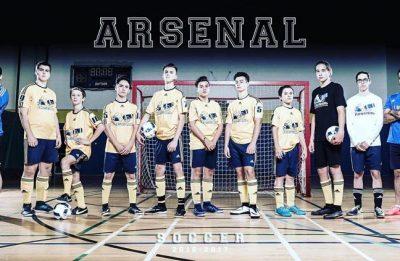 L'Arsenal juvénile participe au tournoi futsal François-Bourrin