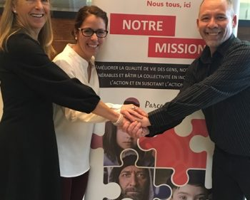 3 320 $ remis à Centraide par les professionnels du réseau de la santé de la Haute-Gaspésie