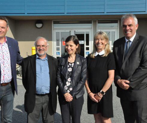 La ministre de la Santé en visite à Sainte-Anne-des-Monts
