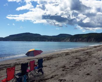 Record de chaleur en Gaspésie