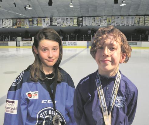 Deux jeunes hockeyeurs annemontois évolueront avec le Petit Océanic AAA